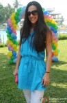 Tara Sharma celebrates Holi with Cancer patients Pic 1