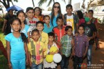 Tara Sharma celebrates Holi with Cancer patients Pic 2