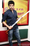 Kartik Aaryan during the promotion of film 'Kaanchi' at Radio Mirchi