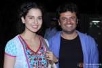 Kangana Ranaut and Vikas Bahl Promotes 'Queen' In A Popular Mumbai Lounge Pic 1