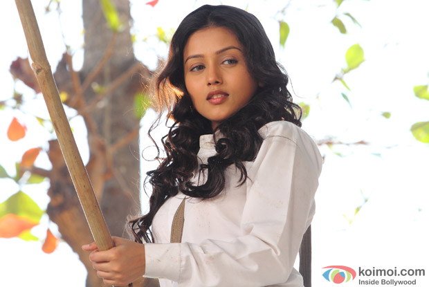 Indrani Chakraborty in a still from Movie 'Kaanchi'