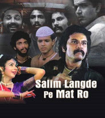 Salim Langde Pe Mat Ro (1989) Movie Poster