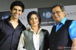 Kartik Aaryan, Mishti and Subhash Ghai Trailer Launch of 'Kaanchi' Pic 1