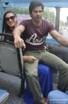 Nargis Fakhri and Varun Dhawan Promote Main Tera Hero