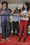 Varun Dhawan and Nargis Fakhri Promote Main Tera Hero Pic 2
