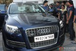 Varun Dhawan Clicked In His New Audi Q7 Pic 1