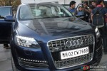 Varun Dhawan Clicked In His New Audi Q7 Pic 2