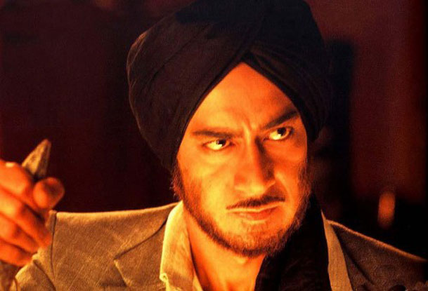 Ajay Devgn in a still from movie 'The Legend of Bhagat Singh'
