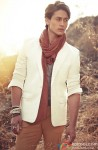 A Dapper Tiger Shroff Poses