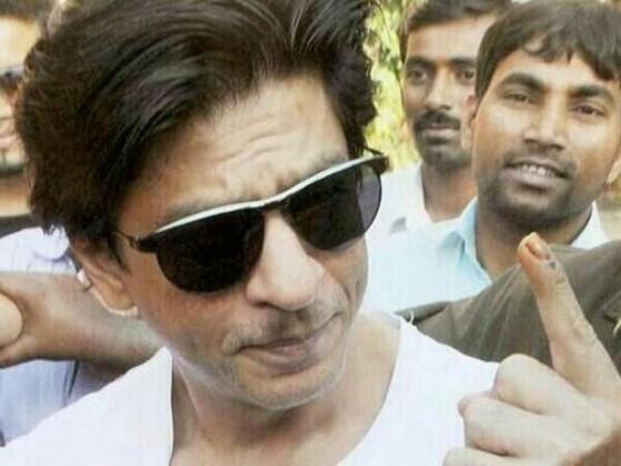 Shahrukh Khan Post Casting His Vote