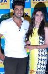 Arjun Kapoor and Alia Bhatt during the promotion of film '2 States' in Kolkata Pic 1
