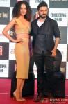 Kangana Ranaut and Vir Das during the press meet of film 'Revolver Rani' Pic 2