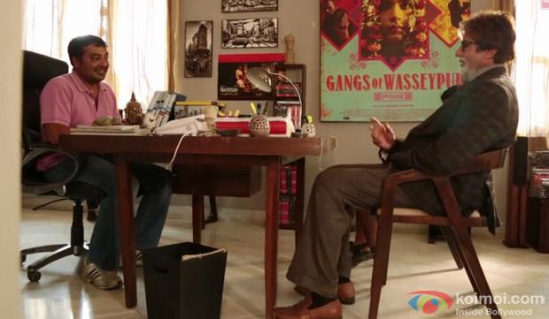 Anurag Kashyap Shoots For Amitabh Bachchan's Bhoothnath Returns