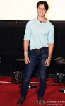 Tiger Shroff during the trailer launch of 'Heropanti'