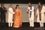 Ustad Amjad Ali Khan, Amaan Ali Khan and Ayaan Ali Khan at Indian Of The Year Awards ceremony