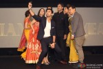 Soundarya Rajinikanth, Ranibr Kapoor, Vikram Chandra, Deepika Padukone and Aamir Khan at Indian Of The Year Awards ceremony