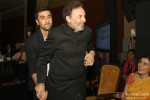 Ranbir Kapoor and Prannoy Roy at Indian Of The Year Awards ceremony