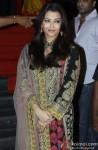 Aishwarya Rai Bachchan during the launch of Rajinikanth's 'Kochadaiiyaan' Hindi trailer