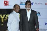 Amitabh Bachchan during the launch of Rajinikanth's 'Kochadaiiyaan' Hindi trailer