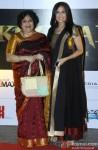 Latha Rangachari Rajinikanth and Soundarya Rajinikanth during the launch of Rajinikanth's 'Kochadaiiyaan' Hindi trailer