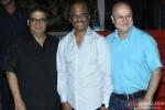 Subhash Ghai and Anupam Kher during the launch of Rajinikanth's 'Kochadaiiyaan' Hindi trailer