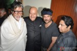 Amitabh Bachchan and Anil Kapoor during the launch of Prem Chopra's Autobiography