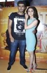 Arjun Kapoor and Alia Bhatt meet viewers of '2 States' in Mumbai's Multiplex