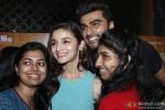 Alia Bhatt and Arjun Kapoor meet viewers of '2 States' in Mumbai's Multiplex Pic 2