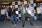 Alia Bhatt and Arjun Kapoor during the promotion of film '2 States' in Thane Pic 1