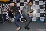 Alia Bhatt and Arjun Kapoor during the promotion of film '2 States' in Thane Pic 2