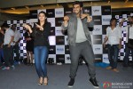 Alia Bhatt and Arjun Kapoor during the promotion of film '2 States' in Thane Pic 4