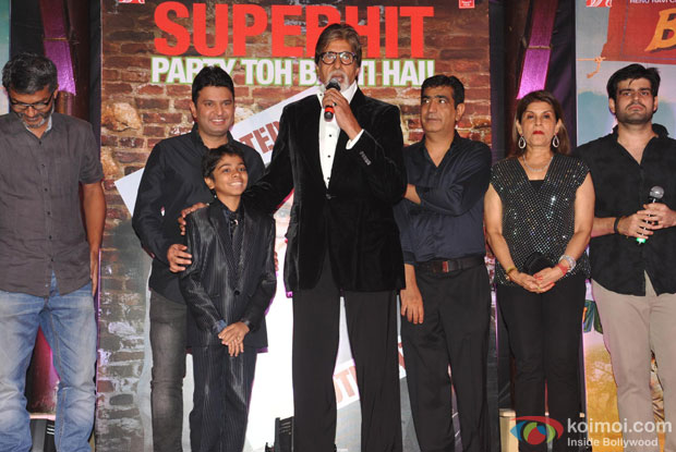 Amitabh Bachchan during the success bash of 'Bhoothnath Returns'