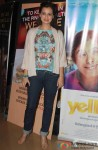 Dia Mirza at the special screening of Marathi film 'Yellow'