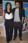 Neha Sharma and Jackky Bhagnani at the special screening of Marathi film 'Yellow'