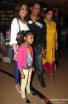 Renu Bhandarkar and Madhur Bhandarkar at the special screening of Marathi film 'Yellow'