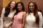 Kalki Koechlin, Richa Chadda and Aditi Rao Hydari during the Manish Malhotra's show Men For Mijwan