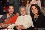 Shabana Azmi, Jaya Bachchan and Neetu Singh Kapoor during the Manish Malhotra's show Men For Mijwan