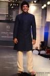 Farhan Akhtar walks the ramp for Manish Malhotra's Men For Mijwan