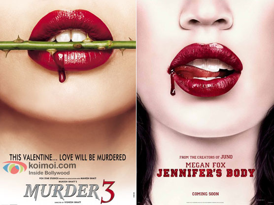 Murder 3 and Jennifer's Body Movie Poster