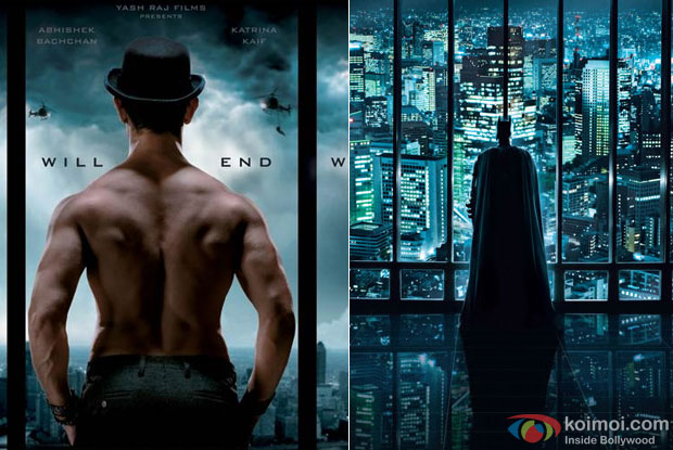 Dhoom 3 and The Dark Knight: This Dhoom Thief Is A Poster Chor As Well