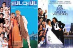 Hulchul and My Big Fat Greek Wedding Movie Poster