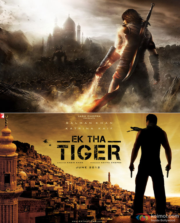 Ek Tha Tiger and Prince Of Persia Game: Copied A Game Poster..Really?