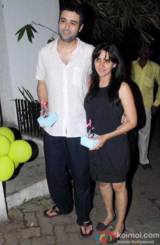 Imran Khan-Avantika Malik's Baby Shower