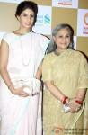 Shweta Bachchan and Jaya Bachchan at Swades Foundation's Show