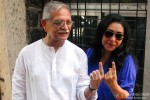 Gulzar and Meghna Gulzar Voted This Lok Sabha Elections