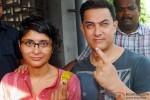 Kiran Rao and Aamir Khan Voted This Lok Sabha Elections