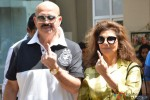 Rakesh Roshan and Pinky Roshan Voted This Lok Sabha Elections