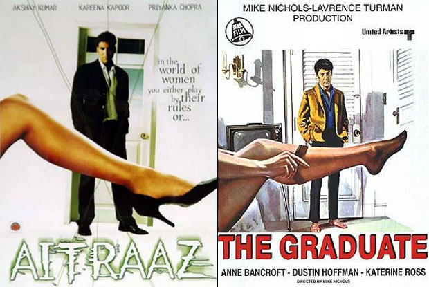 Aitraaz and The Graduate: No Aitraaz That This Is A Copy?