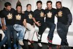 Vikramaditya Motwane, Vijay Singh, Karan Johar, Vikas Bahl, Ranbir Kapoor and Anurag Kashyap at the Bombay Velvet's wrap up party Pic 4