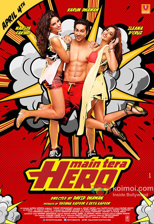 'Main Tera Hero' Movie Poster